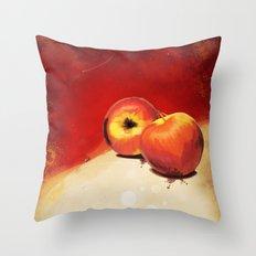 Adam's Apple Throw Pillow