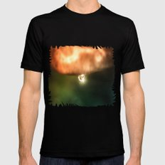 Just a drop of water in an endless sea Mens Fitted Tee Black SMALL