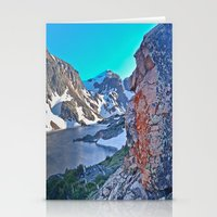 Froze To Death Lake Stationery Cards