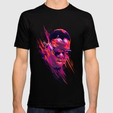 The Notorious B.I.G: Dead Rappers Serie Mens Fitted Tee Black SMALL