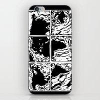 Monotype Map (Black) iPhone & iPod Skin