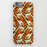 Tiger Conga pattern iPhone 6 Slim Case