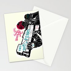 Face your Fears Stationery Cards