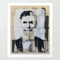 Abraham Lincoln (make-re… Art Print