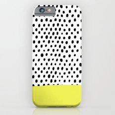 Polka dot rain dip iPhone 6s Slim Case