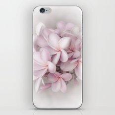 Plumeria love iPhone & iPod Skin