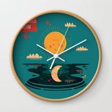 :::A Half-Finished Dream::: Wall Clock