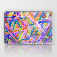 Triangle color splash Laptop & iPad Skin