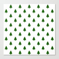(Christmas) Tree II Canvas Print