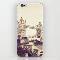 Tower Bridge, London iPhone & iPod Skin