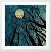 The Moon was Ours for a Season Art Print