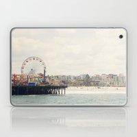 Santa Monica Pier. Happy Birthday Pacific Park!  Laptop & iPad Skin