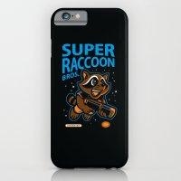 Super Raccoon iPhone 6 Slim Case
