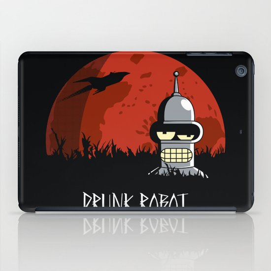 Drunk Robot iPad Case