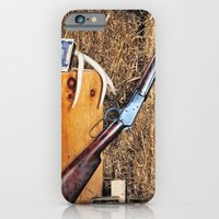 iPhone & iPod Case featuring Winchester Rifle by Captive Images Photography