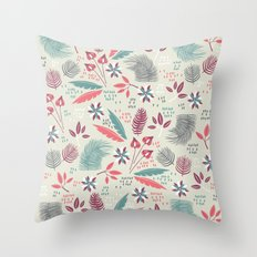 Forest Twilight  Throw Pillow