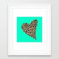 Wild Love Framed Art Print