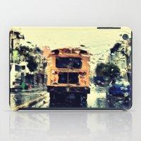 frisco kid // yellow bus iPad Case