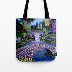 My Garden - by Ave Hurley Tote Bag