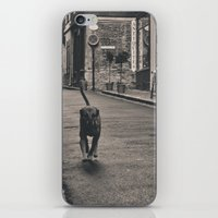 Running Dog iPhone & iPod Skin