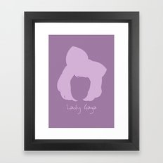 Mother Monster. Framed Art Print