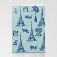 Vintage Paris Stationery Cards