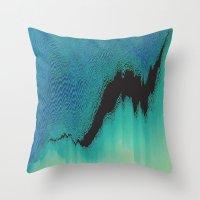 The Rift Throw Pillow