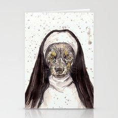 Dachshund | The Nun Dog … Stationery Cards