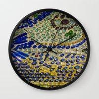Bottle chapel  Wall Clock