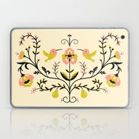 Hummingbirds and Pears Laptop & iPad Skin