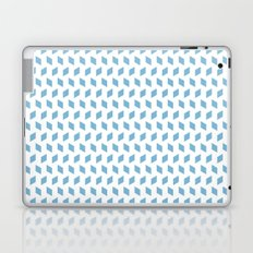 rhombus bomb in dusk blue Laptop & iPad Skin