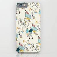 iPhone & iPod Case featuring Tonys Bike Shop by Frances Beale