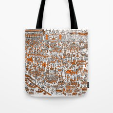 Where's Willem? Tote Bag