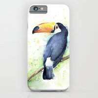 iPhone & iPod Case featuring Toucan by Olechka