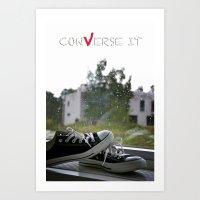 Converse It Art Print