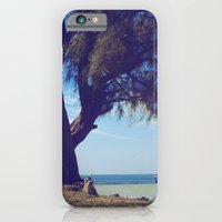 Fisherman in the distance, Mauritius iPhone 6 Slim Case
