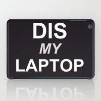 Dis My Clothing Line iPad Case