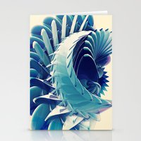 Space Abstract  Stationery Cards