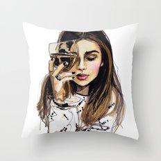 Wednesday Throw Pillow