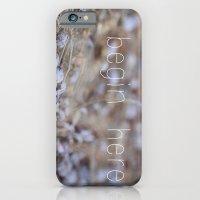 iPhone & iPod Case featuring begin here. by Kristen Mintz