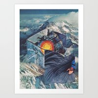 TRUE AT FIRST LIGHT Art Print