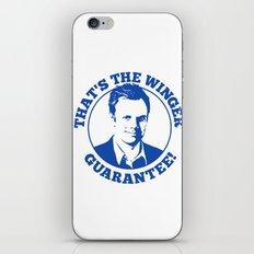 Winger Guarantee iPhone & iPod Skin