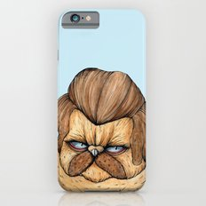 Ron Swanson Cat iPhone 6s Slim Case
