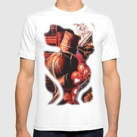 Still Life Mens Fitted Tee White SMALL