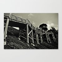 Mont Morency Perch Canvas Print