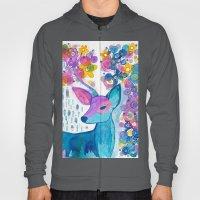 blue deer Hoody