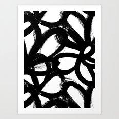 Wild tulips 6 Art Print