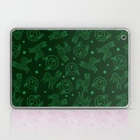 Hover Llama And Stars (P… Laptop & iPad Skin