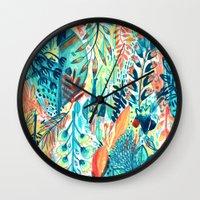 Pattern 27 Wall Clock