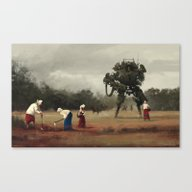 1920 - Harvest Canvas Print